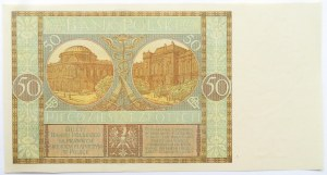 Polska, II RP, 50 złotych 1929, seria EF, UNC