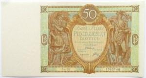 Polska, II RP, 50 złotych 1929, seria DU, UNC