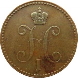 Rosja, Mikołaj I, 3 kopiejki srebrem 1843 E.M., Jekaterinburg