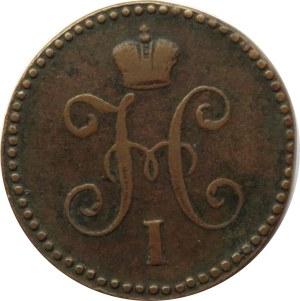 Rosja, Mikołaj I, 1 kopiejka 1846 C.M., Suzun