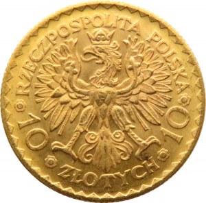 Polska, II RP, Bolesław Chrobry, 10 złotych 1925, UNC