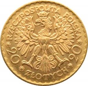 Polska, II RP, Bolesław Chrobry, 20 złotych 1925, Warszawa