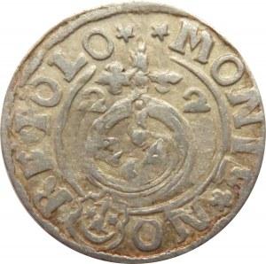 Zygmunt III Waza, półtorak 1622, Bydgoszcz, z błędem i ozdobna tarcza