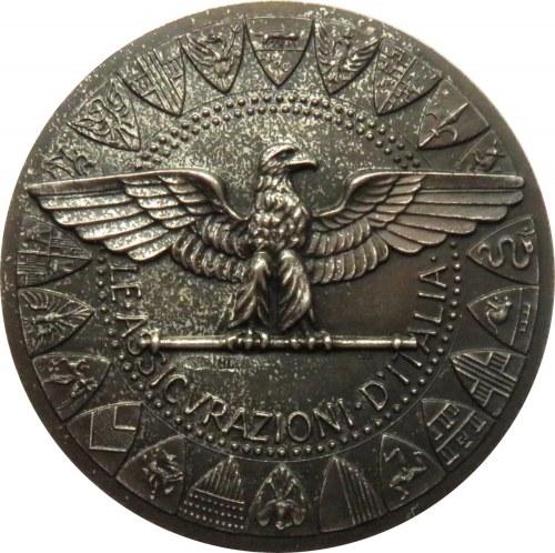 Włochy, medal upamiętniający 50-lecie Towarzystwa Ubezpieczeniowego 1923-1973