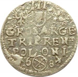Jan III Sobieski, trojak 1684, Bydgoszcz, ...REN...bardzo rzadki Iger R4!!