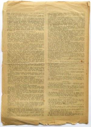 Polska, II RP, Dowód ubezpieczeniowy nr 581 z 8 marca 1938 roku