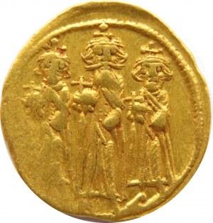 Cesarstwo Wschodnie, Bizancjum, solidus Heraklius (610-641), Konstantynopol