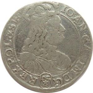 Jan II Kazimierz, szóstak 1667 TLB, Bydgoszcz, (R)