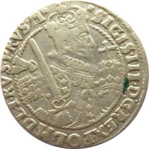 Zygmunt III Waza, ort 1622, Bydgoszcz, inne ozdobniki