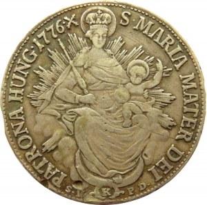 Austria, Maria Teresa, półtalar 1776, Kremnica