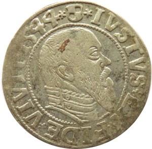 Prusy Książęce, Albrecht, grosz pruski 1544, Królewiec