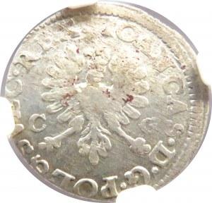 Jan II Kazimierz, dwugrosz 1650, Bydgoszcz, NGC MS61