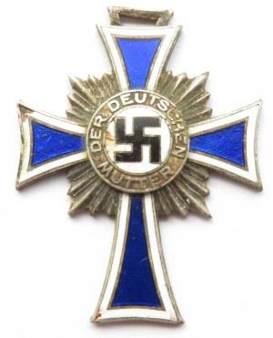 Niemcy, III Rzesza, Srebrny Krzyż Matki 1938, wersja srebrna