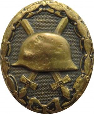 Niemcy, odznaka za rany, I wojna światowa, sygnowana 118