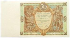 Polska, II RP, 50 złotych 1929, seria EE, UNC-