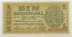 Ukraina, 1 karbowaniec 1942, seria 94, UNC