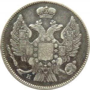 Rosja, Mikołaj I, 20 kopiejek 1840 HG, Petersburg