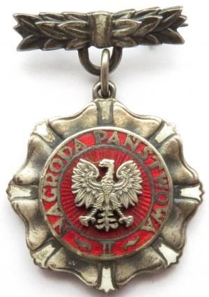 Polska, PRL, Nagroda państwowa II stopnia, stopień srebrny, rzadka! tylko 350 sztuk