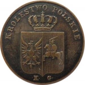Polska, Powstanie Listopadowe, 3 grosze 1831 K.G., Warszawa