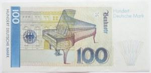 Niemcy, RFN, 100 marek 1989, seria AL, UNC