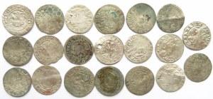 Polska, lot srebrnych monet XV/XVI wiek, półgrosze (2) - 20 sztuk