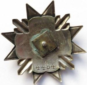 Łotwa/Niemcy (1919-1940), odznaka AIZSARGI (Obrońcy), srebro, sygnowana, rzadka