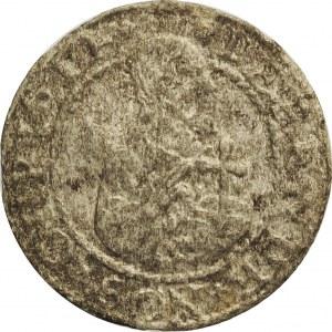 Stefan Batory, szeląg oblężniczy 1577, Gdańsk, rzadkie