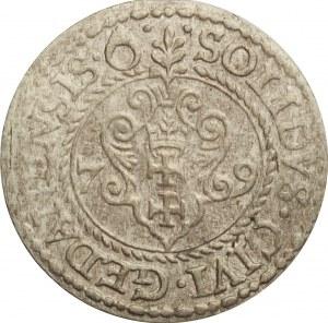Stefan Batory, szeląg 1579, Gdańsk, bardzo ładny