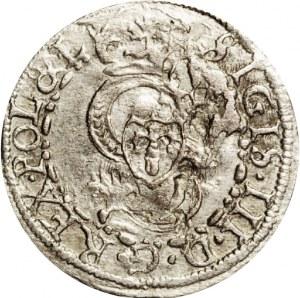 Polska, Kurlandia, F. i W. Ketlerowie (tytulatura Zygmunta III Wazy), szeląg 1605, Mitawa