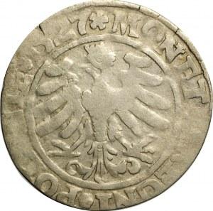 Zygmunt I Stary, grosz 1527, Kraków, odmiana