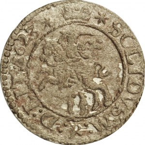 Zygmunt III Waza, szeląg 1623, Wilno, odmiana z