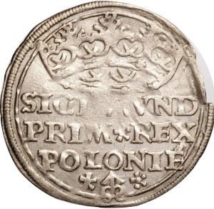 Zygmunt I Stary, grosz 1528, Kraków, rzadka odmiana!