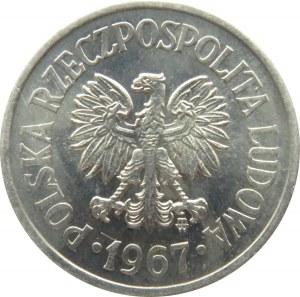Polska, PRL, 10 groszy 1967, Warszawa, UNC