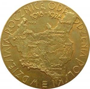 Polska, II RP, medal Powszechna Wystawa Krajowa, Poznań 1929, wersja mała, UNC