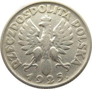 Polska, II RP, Kłosy, 1 złoty 1925, Warszawa