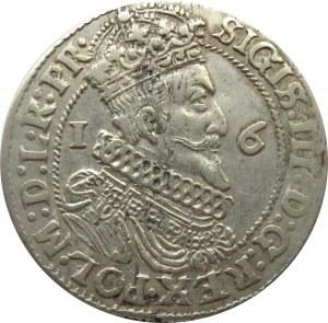 Zygmunt III Waza, ort 1624, przebitka 3/4, Gdańsk