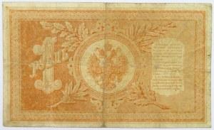 Rosja, Mikołaj II, rubel 1898, seria BA, Timaszew/Naymow, rzadki