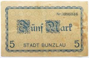 Polska/Śląsk, Bolesławiec, 5 marek 1918, nr 086046