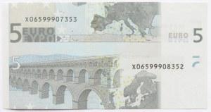 Niemcy/EU, 5 euro 2002 destrukt