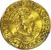 RRR-, Zygmunt II August, Dukat 1554, Gdańsk, bardzo rzadki