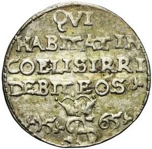 Zygmunt II August, Trojak Szyderczy 1565, Tykocin, bardzo ładny