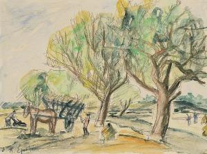 Henryk EPSTEIN (1890-1944), W polu