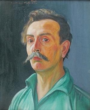 Wlastimil HOFMAN (1881-1970), Autoportret, 1928