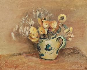 Henryk HAYDEN (1883-1970), Les Fleurs Juane [Żółte kwiaty], 1927