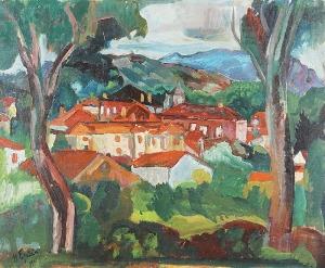 Henryk EPSTEIN (1890-1944), Pejzaż z południa, 1921