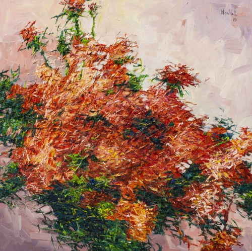 Olena Horhol, Flowering 4, 2019