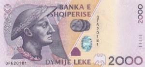 Albania, 2.000 Leke, 2012, UNC, p74b