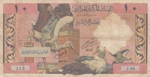 Algeria, 10 Dinars, 1964, FİNE, p123