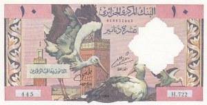 Algeria, 10 Dinars, 1964, AUNC, p123a