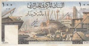 Algeria, 100 Dinars, 1964, VF, P125